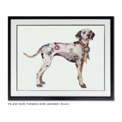 Decoupage Dalmation Dog