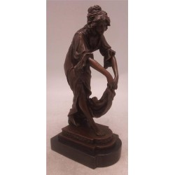 Pavan Lady Dancer Art Deco Bronze