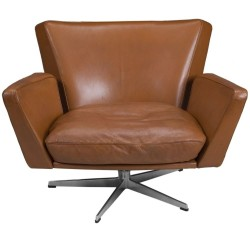 'Ernst' Modern Leather Executive Swivel Chair