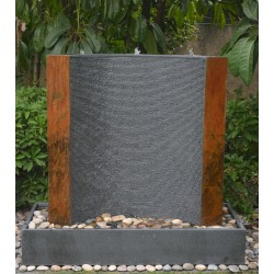Granite Fountain / Water Feature - 140cm High x 150cm Wide - Modern Style