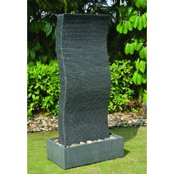 Carved Granite Water Feature / Fountain 180cm High - LED Lights & Pump included