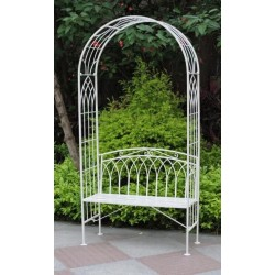 Garden Arch with Seat