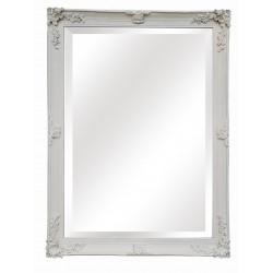 "Large Wall Mirror - White - 54"" x 42"""