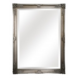 """Large Wall Mirror - Silver - 54"""" x 42"""""""