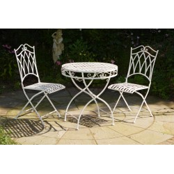 Bistro Garden Set - Table and Four Chairs
