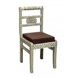 Bone Inlaid Chair
