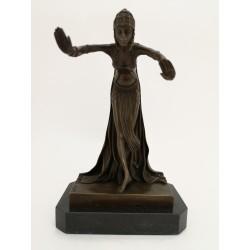 Bronze Art Deco Lady 'The Assyrian Dancer'