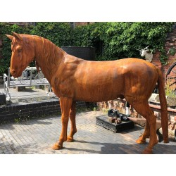 Cast Iron life size Horse sculpture - 182 cm height