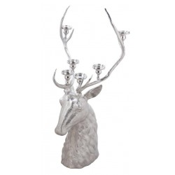 Large Stag head Candelabra