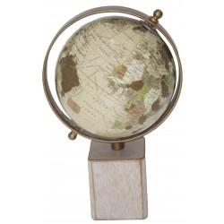 World Globe - 25 cm high