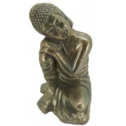 Sitting Buddha sculpture