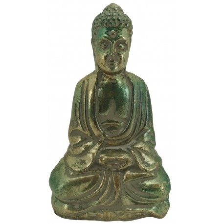 Seated Buddha sculpture