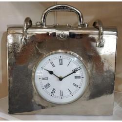 Briefcase / handbag Vintage style clock