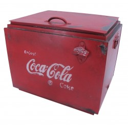 Vintage Style Large Coke Drinks Cooler