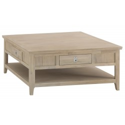 The Bromley Collection: Square Coffee Table
