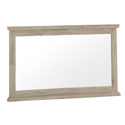 The Bromley Collection: Acacia Wood frame wall mirror