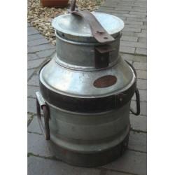 Galvanised Metal Milk Churn - Country Dairies
