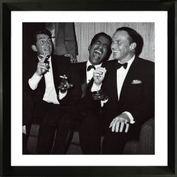 Framed acrylic wall art - The Rat Pack