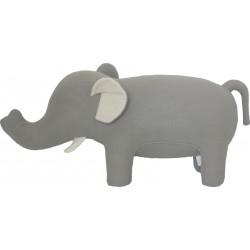 Large knitted Elephant stool
