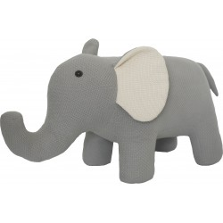Knitted Elephant Stool