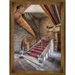 Old Staircase Framed Wall Art - 80cm x 60cm