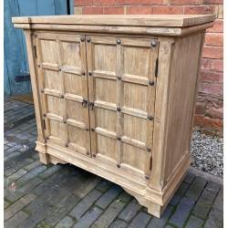 Reclaimed Elm Solid Wood Cupboard / Sideboard - 86cm wide x 86cm high