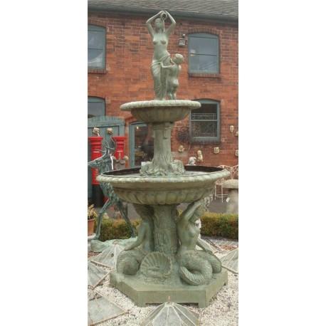 Bronze Mermaids  Fountain
