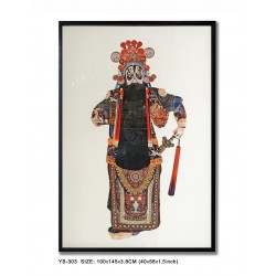 Decoupage Peking Opera Man