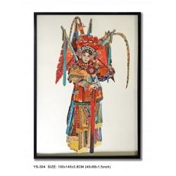 Decoupage Peking Opera Lady