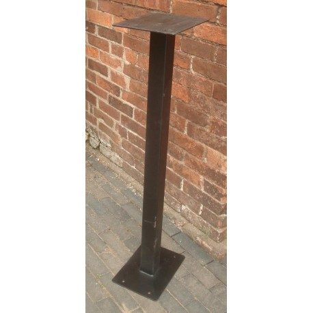 Metal Stand for Royal Mail Post Box ER GR - Floor Mounting