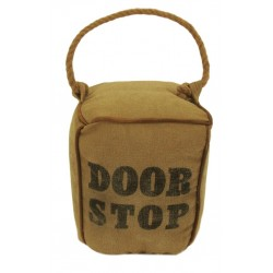 Square Canvas Doorstop with Rope Handle