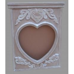 Mango Wood Mirror Frame - 80cm x 67cm - Natural