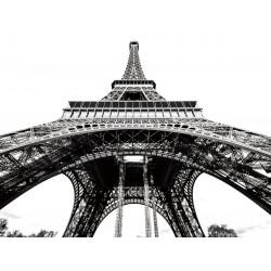 Metallic Fused Glass Art Eiffel Tower - 160cm x 120cm