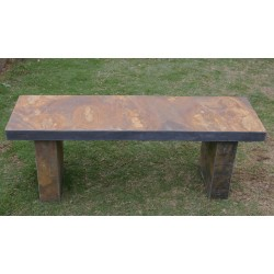Slate Garden Bench - Length 120cm