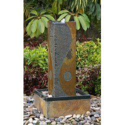 Slate Fountain / Water Feature - 100cm High