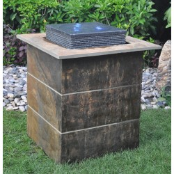 Granite/Slate Fountain / Water Feature - 90cm High