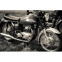 Norton Motorbike - 80cm x 120cm