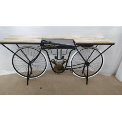 Brough Motorcycle Console Table