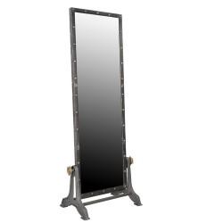 Industrial Iron Mirror
