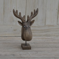 Wooden Moose/Reindeer Medium Size